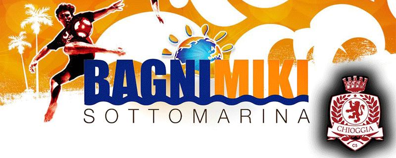 Partnership tra A.S.D Chioggia Calcio A5 e Bagni Miki