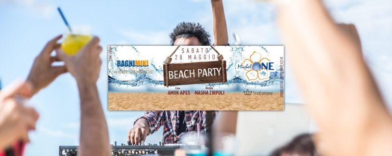 Beach Party Sabato 28 Maggio